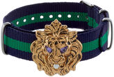 Gabriele Frantzen Navy & Green Lion Candy Bracelet