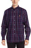 U.S. Polo Assn. Men's Plaid Sport Shirt