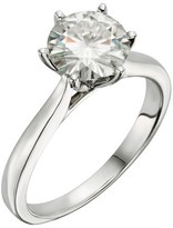 Forever Brilliant 1.90 CT. T.W. Round Forever Brilliant® Moissanite Solitaire Prong Set Ring 14K White Gold