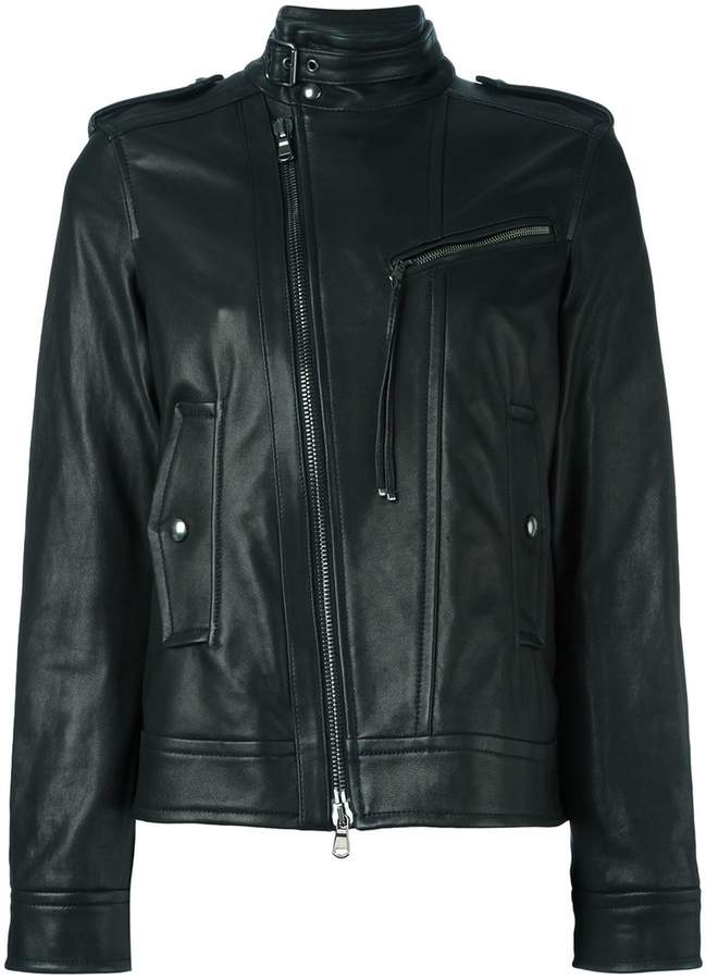 Diesel Black Gold zipped biker jacket