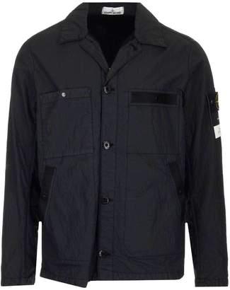 Stone Island Buttoned Shirt Jacket