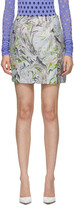 Thumbnail for your product : MAISIE WILEN Blue Call Me Mini Skirt