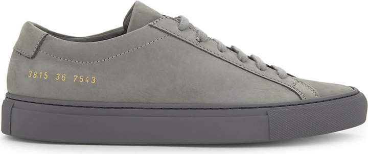 Common Projects Original Achillies nubuck low-top trainers