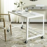 west elm Simple Metal Desk - White