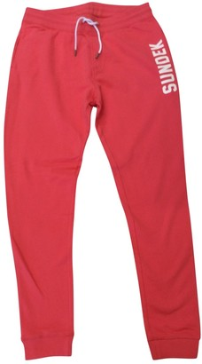 Sundek Cotton Trousers for Women