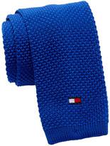 Tommy Hilfiger Flag Logo Solid Tie