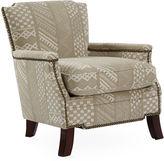 Massoud Furniture Leona Accent Chair, Beige