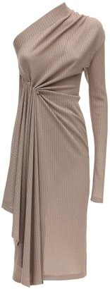 Dodo Bar Or Asymmetrical Jersey Midi Dress