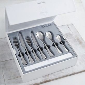 The White Company Symons Cutlery Set of 42, Silver, One Size