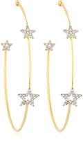 Perlota Trinity Star Hoop Earrings