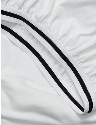 Calvin Klein Modern Cotton - Harrison Fitted Sheet In White