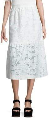 Mother of Pearl Shelly Fit-&-Flare Skirt