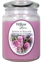 Candlelite Candle Lite Willow Lane Jar with Soy Wax - Jasmine & Hyacinth