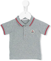 Moncler classic polo shirt - kids - Cotton/Spandex/Elastane - 6-9 mth