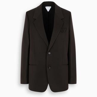 Bottega Veneta Brown single-breasted jacket