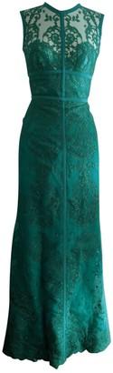 Elie Saab Green Lace Dresses