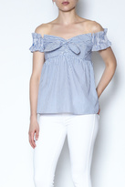 Do & Be Do-Be Off Shoulder Ruffle Top