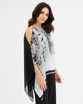 Wallis Cutabout Fern Olayer Top