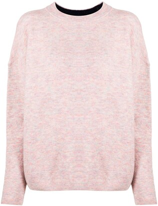 Paul Smith Round Neck Melange Sweater