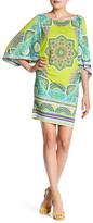 Hale Bob Boatneck Kimono Sleeve Dress