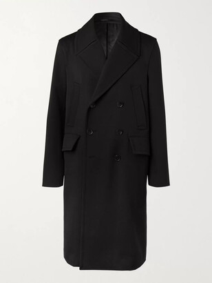 Mr P. Double-Breasted Virgin Wool And Cashmere-Blend Coat