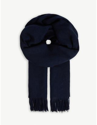 Claudie Pierlot Alaskah19 fringed wool scarf