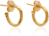 Alighieri The Morning Hour Gold-Plated Hoop Earrings