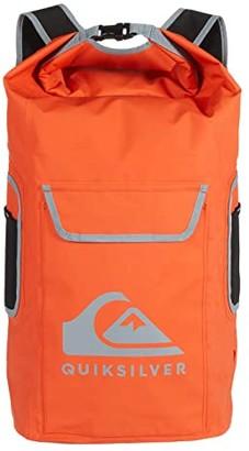 Quiksilver Sea Stash II (Shocking Orange) Backpack Bags