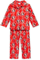 AME 2-Pc. Minnie Mouse Holiday Pajama Set, Toddler Girls (2T-4T)