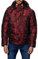 Jared Lang Men's Alaska Camo Down Puffer Coat