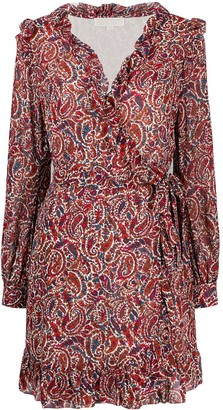 MICHAEL Michael Kors Paisley Print Shirt Dress