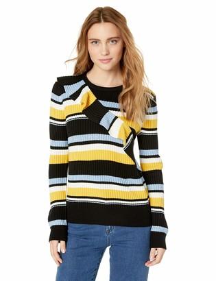 Parker Women's Montego Long Sleeve Striped Sweater