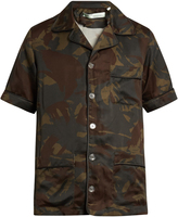 Off-White Camouflage-print short-sleeved shirt