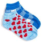 Make + Model 2-Pack Plush Low Cut Socks