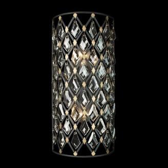 Varaluz Windsor 2 - Light Dimmable Carbon/Havana Gold Flush Mount