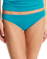 Carmen Marc Valvo Classic Hipster Swim Bottom, Peacock