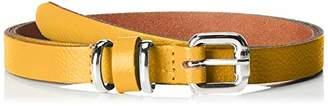 Esprit edc by Accessoires Women's 049ca1s002 Belt, (Yellow 750), (Size: 80)