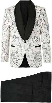 Dolce & Gabbana DNA three-piece jacquard tuxedo suit