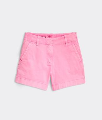 Vineyard Vines Girls Garment Dye Every Day Shorts