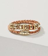 LOFT Leather Charm Bracelet