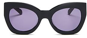 Karen Walker Women's Northern Lights Cat Eye Sunglasses, 51mm