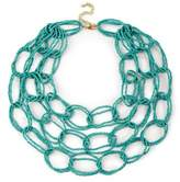Sole Society Interlinked Beaded Necklace