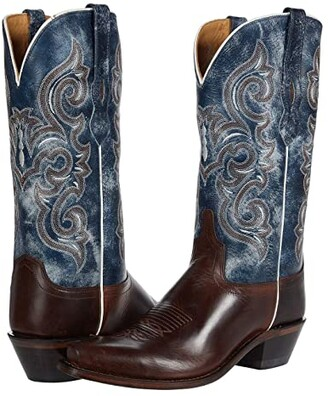 Old West Boots Jesse (Brown) Women's Shoes