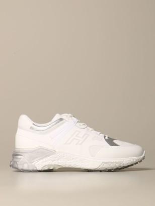 Hogan Sneakers Urban Trek Sneakers In Leather And Mesh