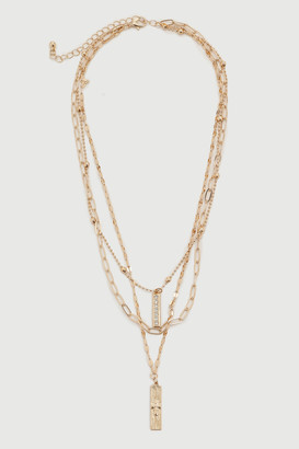 Ardene Layered Chain Necklace