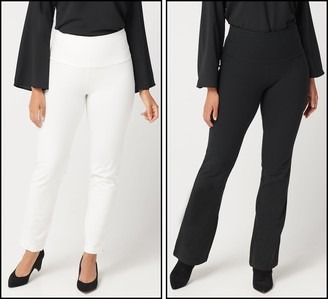 Women With Control Tall Tummy Control Set of 2 Pants