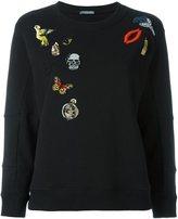 Alexander McQueen 'Obession' charms sweatshirt