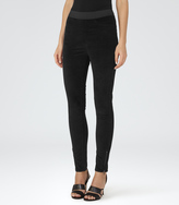 Reiss Vixen VELVET LEGGINGS