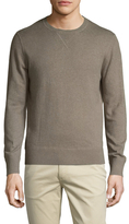 Life After Denim Tournament Cotton Cashmere Crewneck Sweatshirt