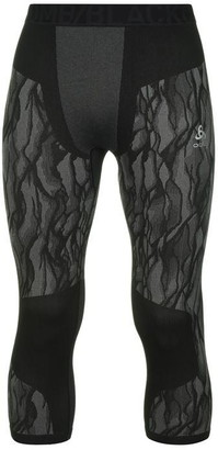 Odlo Blackcomb Three Quarter Tights Mens